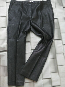 Trousers-Guido-Maria-Kretschmer-Shiny-Size-42-to-52-Black-Silver-plus-Size-203