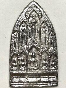 PHRA SIPTAT LP NGERN RARE OLD THAI BUDDHA AMULET PENDANT MAGIC ANCIENT IDOL#8