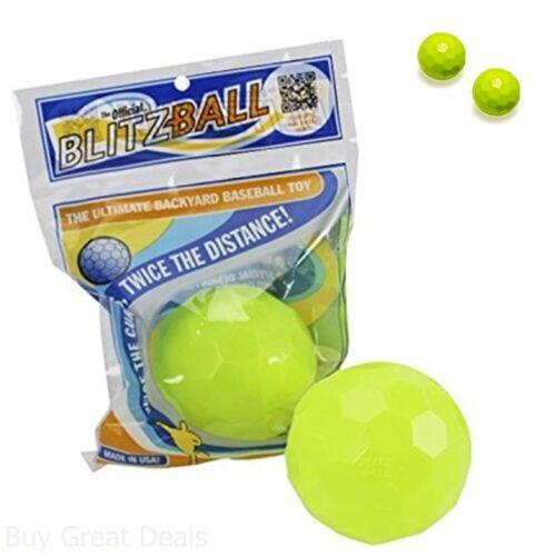 Blitzball Plastic Baseball 2 Pack High-performance Plastic Construction New