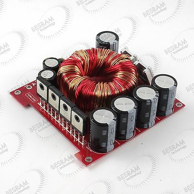 12V to +-45V 500W power supply Board for Amplifier in Car 3300UF/50V*4