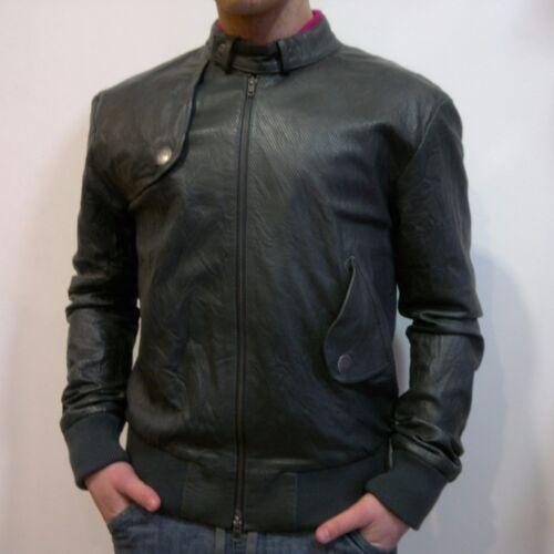 LUKE-Haute Qualité Veste en cuir
