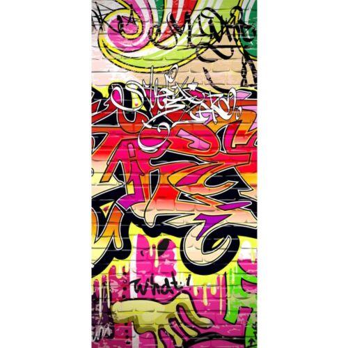 "220/"" Kinderzimmer Graffiti Streetart Graffitt Tür Fototapete /""no 100x211 cm"