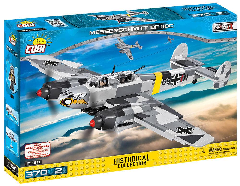 Spielzeug Konstruktion Flugzeug Kampfjet Jet Messerschmitt BF 110 C