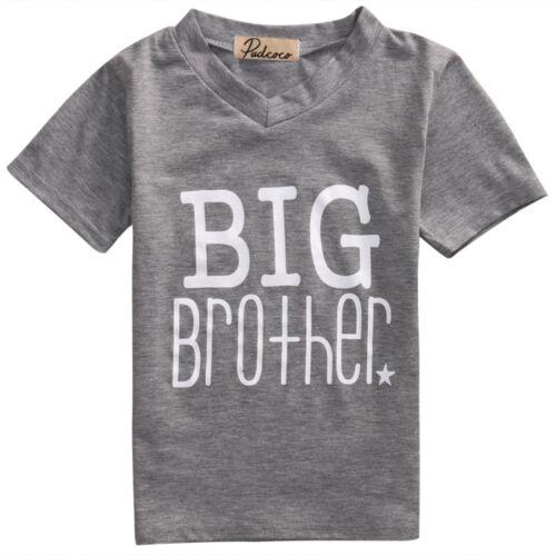 Camiseta Gris Blanco Underlight Outfit Little Big Brother Bodysuit Babygrow Chaleco