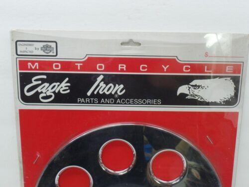 Harley Davidson Chrome Sprocket Insert /'80-ON Models With Secondary Belt Drive
