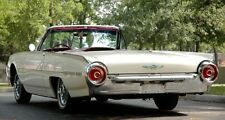Tbird 1960s Thunderbird Ford Sport Car 1 Rare Vintage Carousel White Model 18