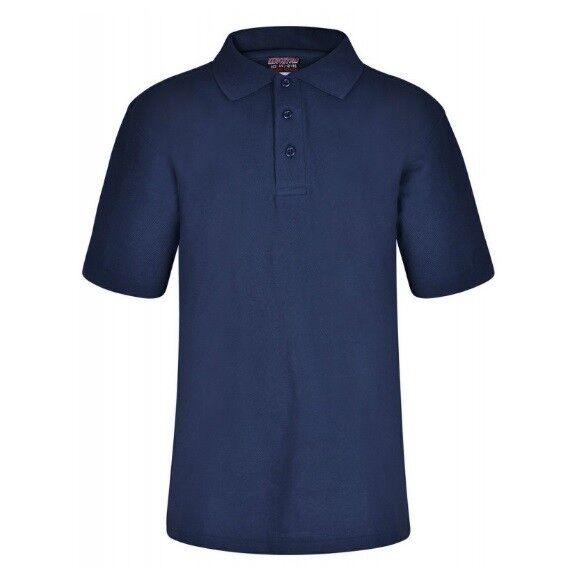 100% De Qualité Marine Foncé Enfants Garçon Filles Ecole Polo T-shirt Uniforme Sport Pe Bon GoûT
