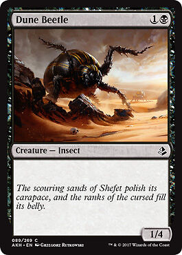 Amonkhet Magic 4x Dune Beetle Dünenkäfer