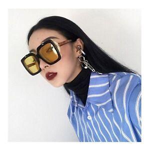 1432fdcdc Image is loading 2019-Square-Sunglasses-Women-Retro-Brand-Designer-Two-