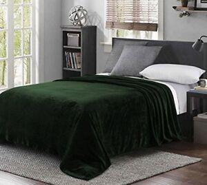 Soft Fuzzy Blanket Queen For Winter Sleep Warm Cover Flannel Super