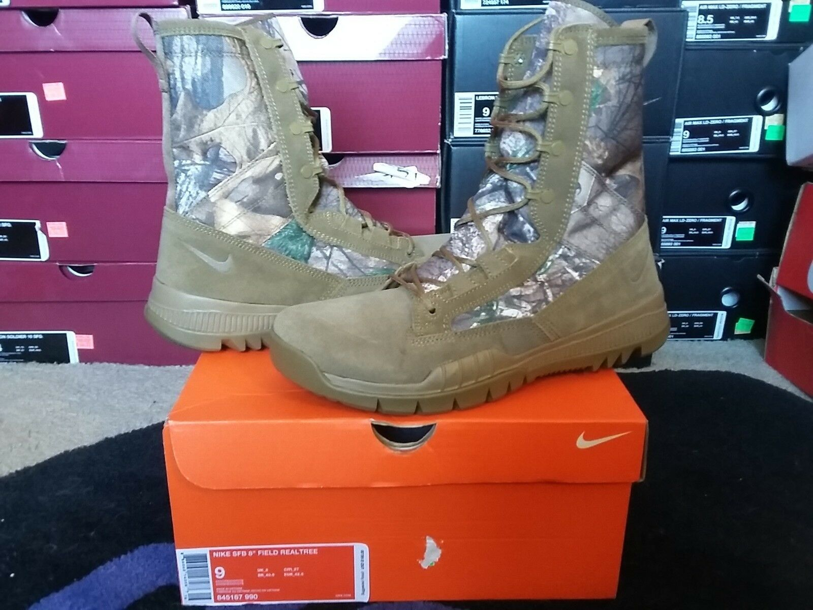 Nike Air SFB 8 campo Realtree Camo ACG Coyote caza militar 845167 990 salvaje caza Coyote botas zapatos casuales 335864