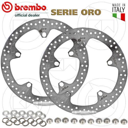 Paar Bremsscheiben Vorne Brembo Serie Gold BMW S 1000 R 2014-2018