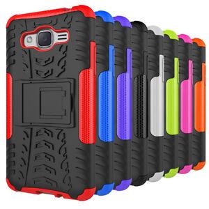 buy online d9cc6 d841e Details about Hybrid Shockproof Hard Case Cover For Samsung Galaxy Grand  Prime Plus / J2 Prime