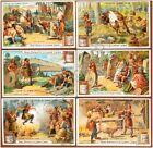 Figurine Liebig - Italia - Sang. 768 - Costumi dei Germani Antichi - 1904