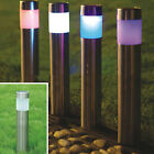 Outdoor Stainless Steel Led Solar Power Light Lawn Garden Landscape Pathway Yard