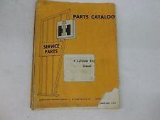 International Harvester 4 Cylinder Diesel Engine Parts Catalog For Crawlers