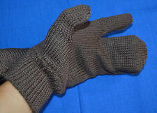 Bulgarian Army Winter Rifleman MITTENS Wool GLOVES 3 fingers