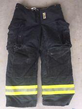 Firefighter Janesville Lion Apparel Turnout Bunker Pants 38x30 Black 2008