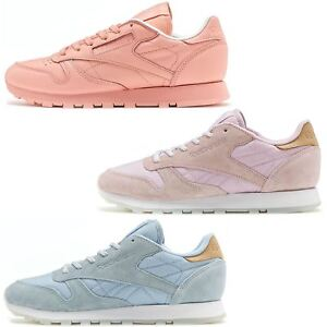 d819a92b969de Image is loading Reebok-Classic-Leather-Sea-Worn-amp-Spirit-Classic-