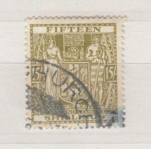 New-Zealand-1938-15-Fiscal-SGF187-VFU-J8297