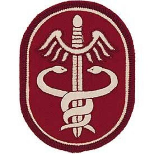 OCP Unit Patch United States Army Health Service Command