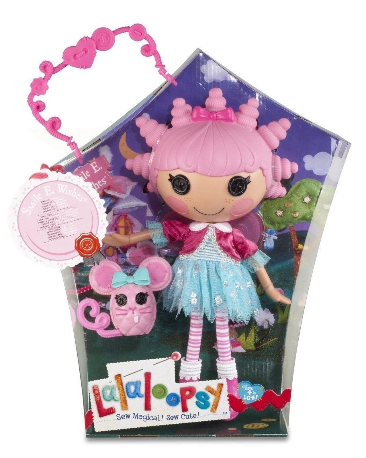 LALALOOPSY SMILE E. WISHES ( LARGE DOLL) MIB