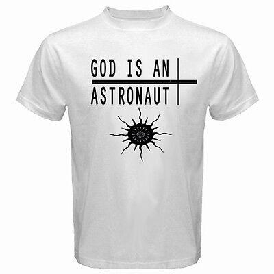 New God Is An Astronaut Rock Band Men/'s White T-Shirt Size S M L XL 2XL 3XL