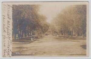 A0978 : 1908 Lawrence, Kan Véritable Photo Carte Postale