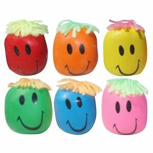 Moody Smiley Face Stress Ball  Stretchy Squishy Moulding Dough Fidget Toy