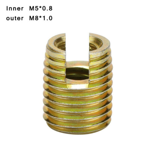M12 Carbon Steel Self-Tapping Thread Inserts Repair Tools Replacement 20pcs M2