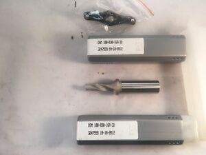 Iscar-DSM-100-030-16A-3D-Drill-Body-Coolant-Through-Iscar