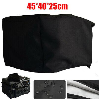 Black Polyester-cotton Fiber Printer Dust Cover 18X16x10/'/' for Workforce WF-3620