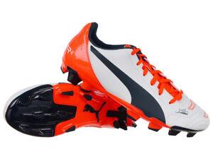 97c2145a9c2d0 PUMA evoPower 4.2 FG Jr Junior Youth Soccer Trainers Shoes Kids ...