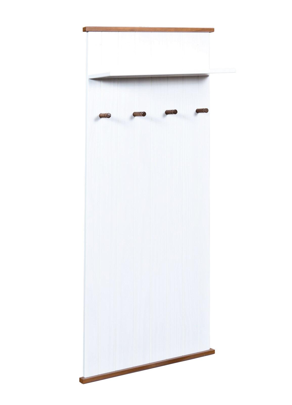 Westerland Wandpaneel 11.2, Wandgarderobe, Paneel, Kleiderpaneel, Weiß | | | New Style  a04e16