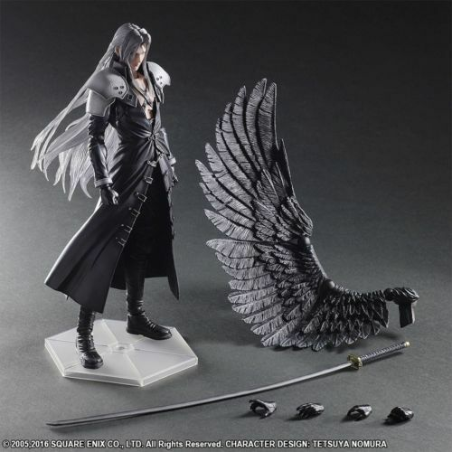 PVC Final Fantasy 7 VII Sephirojoh Anime Play Arts Kai Figura de Acción Modelo Estatua
