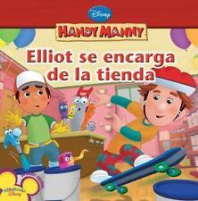 Elliot se encarga de la tienda (Handy Manny (8x8 Spanish))-ExLibrary
