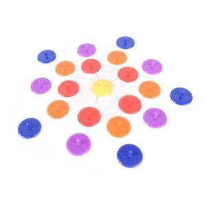 50X-Plastic-Golf-Ball-mark-Position-Markers-Diameter-24mm-Golf-Accessories-MD