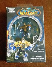 New Mega Bloks World of Warcraft COLTON Human Paladin Figure Piece  28 pc #91001