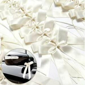 Mini-Satin-Ribbon-Flowers-Bows-Gift-Craft-Wedding-Decoration-Ornament-50pc-S