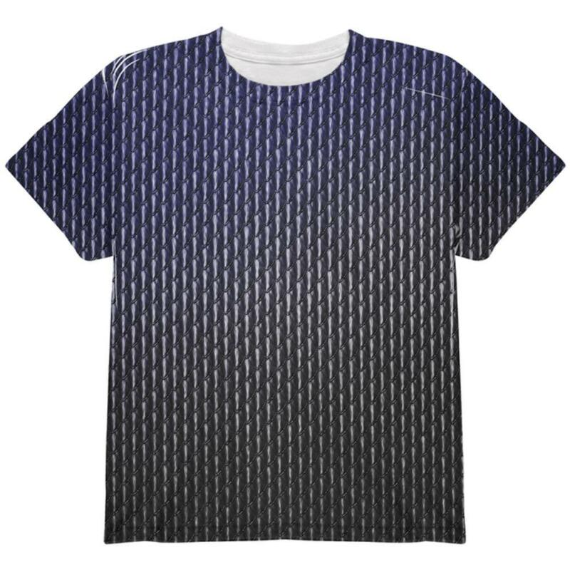 Halloween Black Shadow Dragon Scales Costume All Over Youth T Shirt