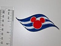 Disney Cruise Line Embroidered No Sew Applique Patch