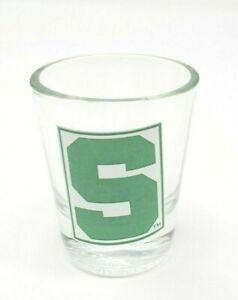 Michigan-State-University-Spartans-Shot-Glass-NCAA-Barware-Man-Cave-MSU