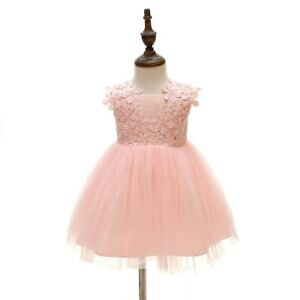 Pink Baby Pageant Dress