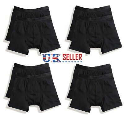 MENS Classic Boxers Briefs Hipster Shorts Work Cotton Lycra Fit Soft Trunks bxr