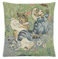 Beatrix Potter Tom Kitten Tapestry Cushion Cover NEW 24920