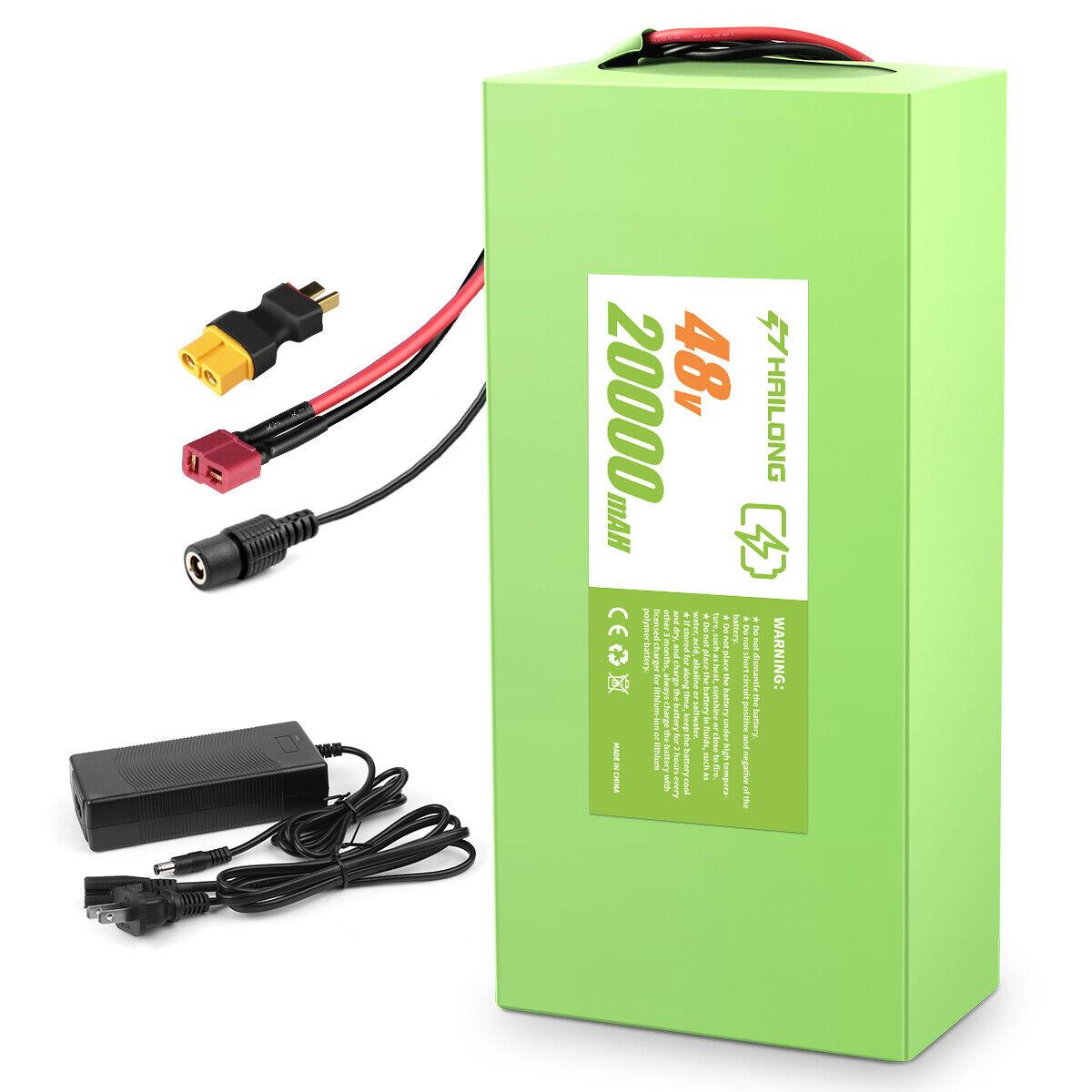 (CA Warehouse) 48v ebike battery 20ah 1000W Electric Bike Battery Charger