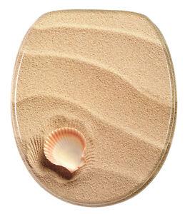 wc sitz toilettendeckel klodeckel klobrille deckel brille toilettensitz clam ebay. Black Bedroom Furniture Sets. Home Design Ideas