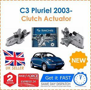 Clutch-Actuator-For-Citroen-C3-Pluriel-HB-1-6-1587cc-05-2003-SACHS-New