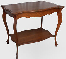 Antique Quarter Sawn Oak Lamp Parlor or Small Table