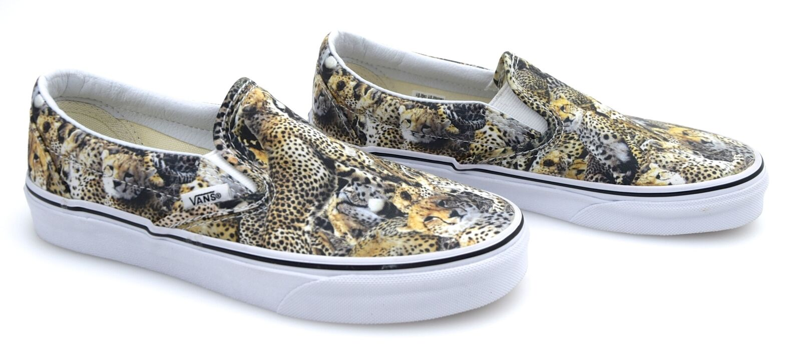 VANS WOMAN MAN SNEAKER SLIP ON SHOES LEOPARD FANTASY CODE CLASSIC SLIP-ON ZMRFGZ